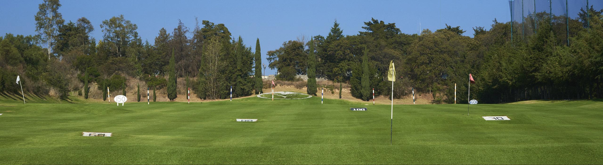 Campo de Golf para practicar