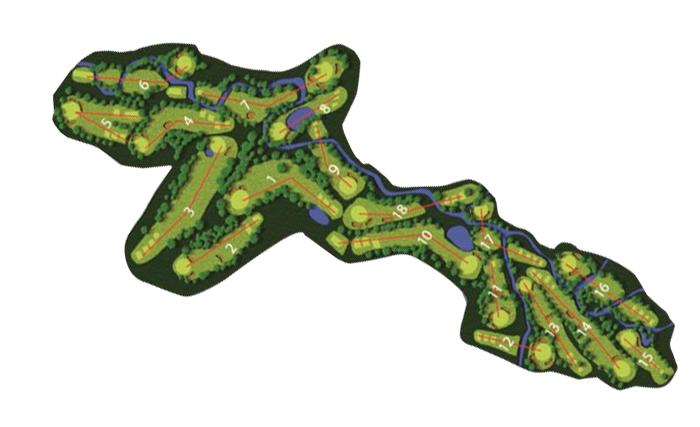 Ilustración del Campo de Golf