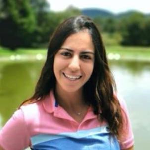 Profesora de Golf Julieta Rotzinger