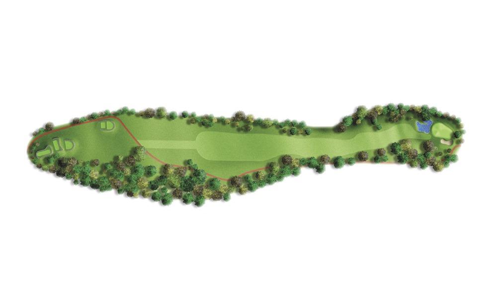 Mapa del hoyo 3