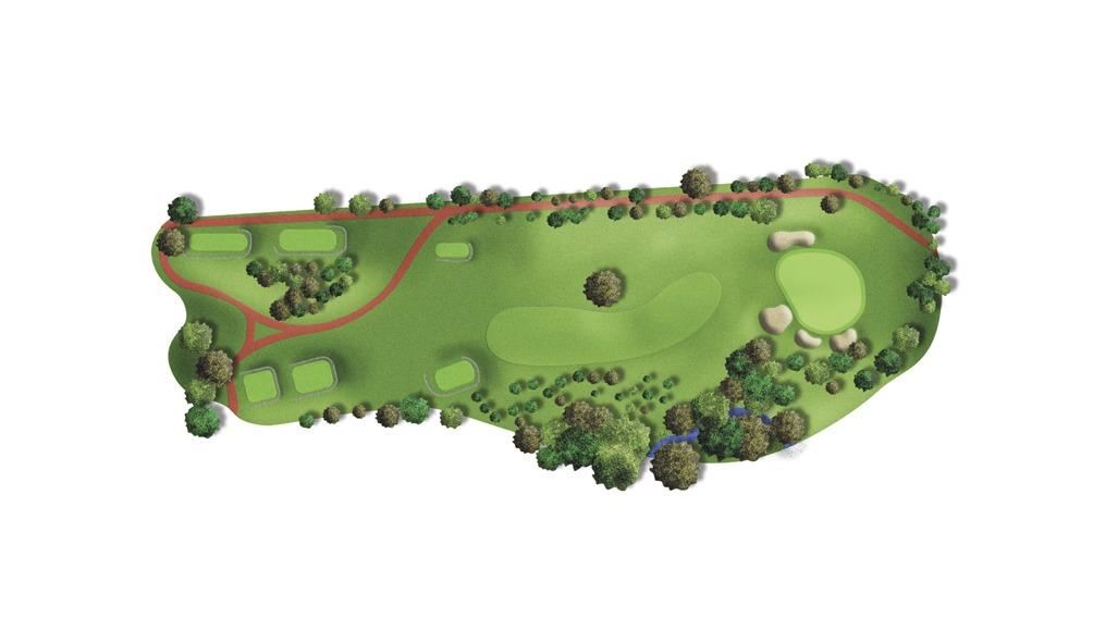 Mapa del hoyo 5