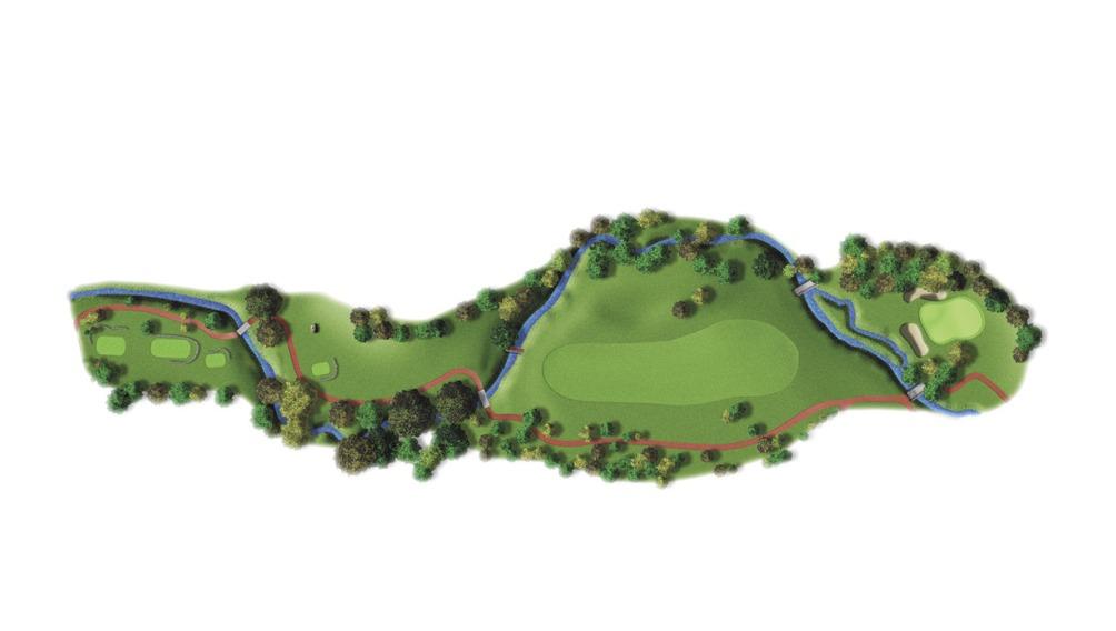 Mapa del hoyo 6