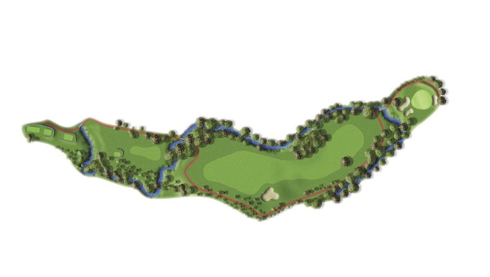 Mapa del hoyo 7