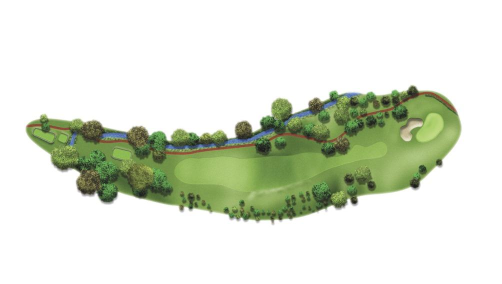 Mapa del hoyo 9
